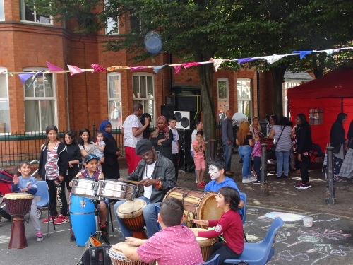 0763 Leicester Highfields Street Party