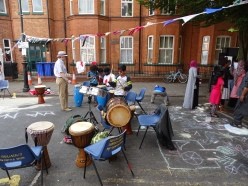 0782 Leicester Highfields Street Party