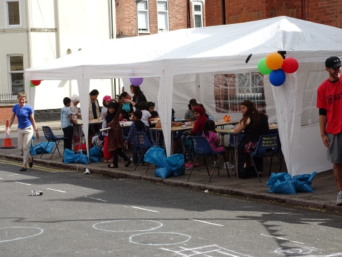 0790 Leicester Highfields Street Party