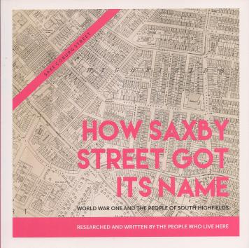 Saxby Street book cover