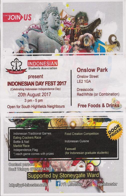 Indonesian Day 2017
