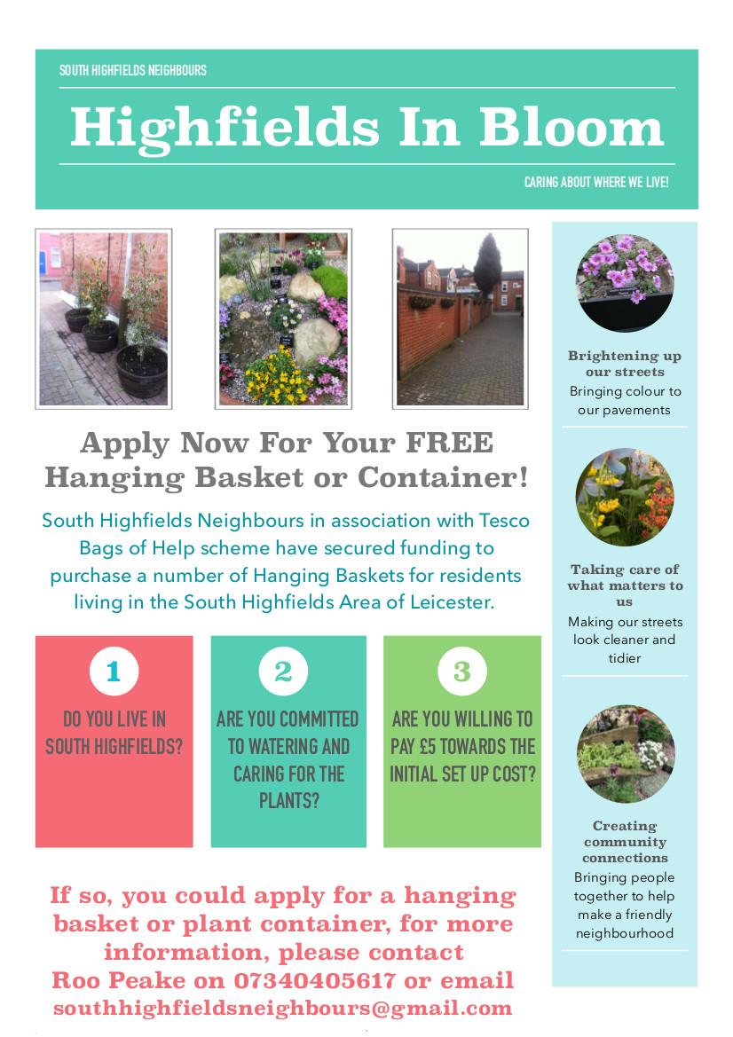 Hanging Basket Flyer