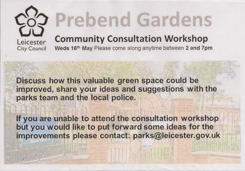 Prebend Gardens consultation