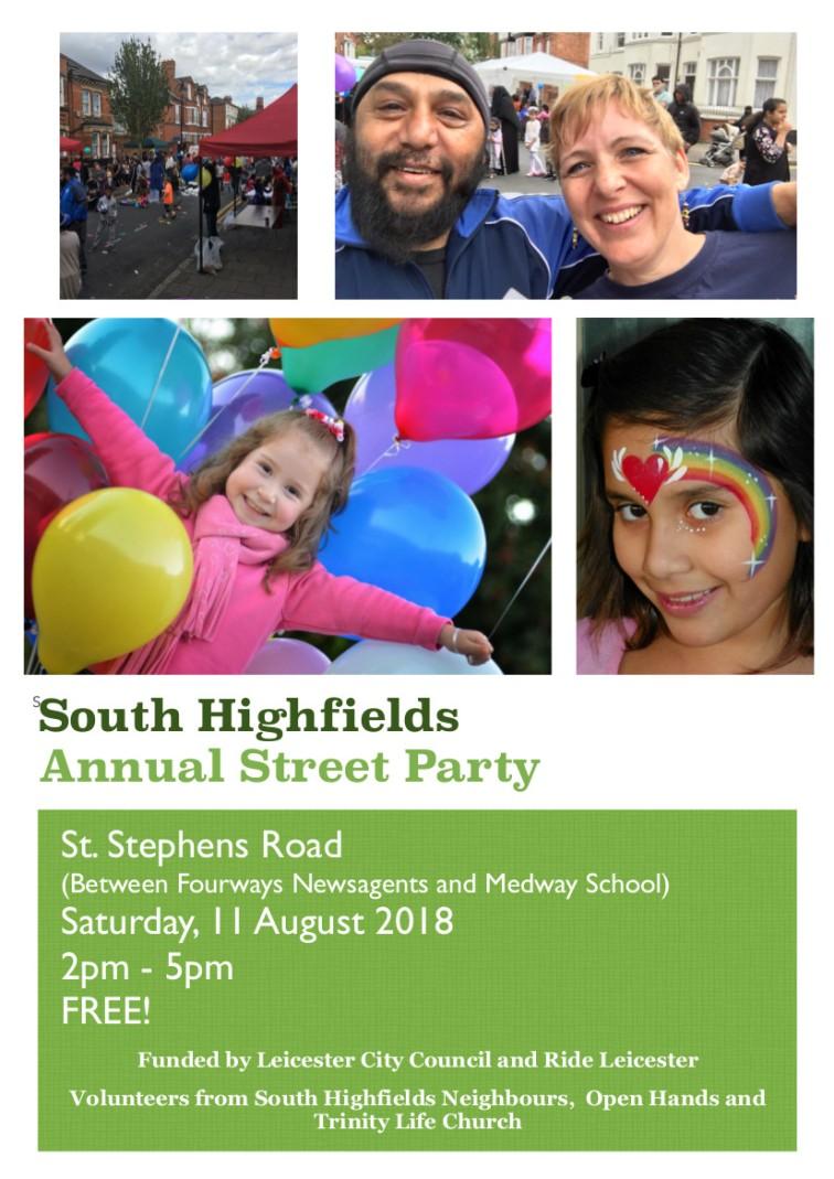 Street Party Flyer 2018