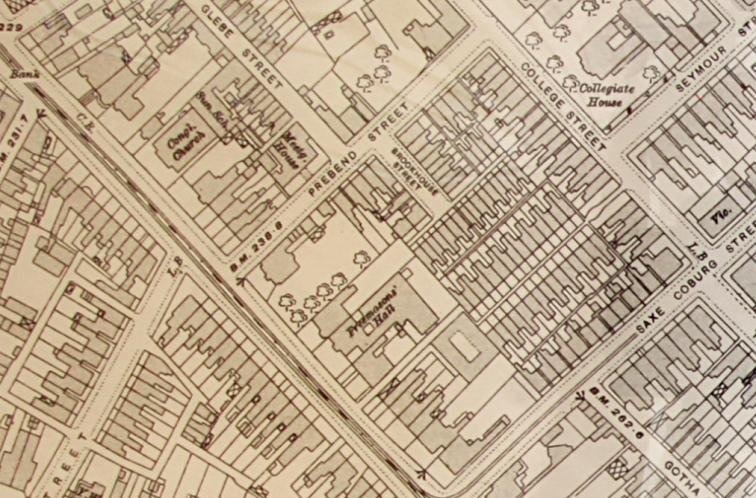 OS map 1915